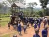 Play house at Byana Mary Hill in Uganda